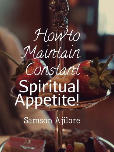 spiritual appetite