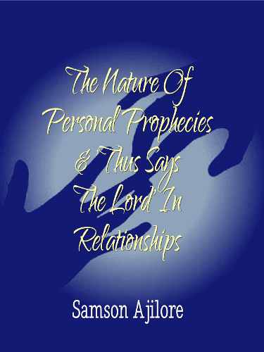 The Nature Of Personal Prophecies Amp Thus Says The Lord In