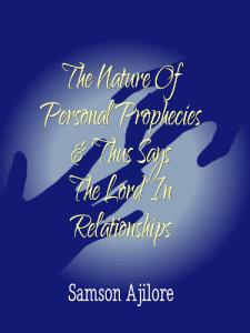 Personal Prophecies