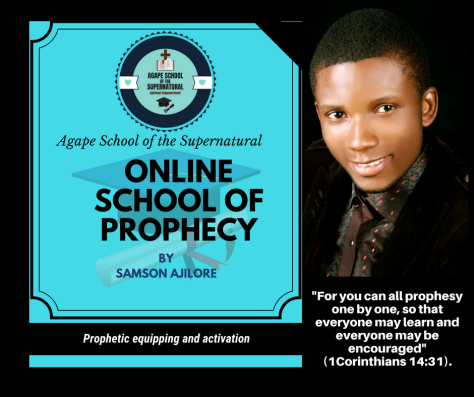 Online school of prophecy